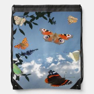 Mochila holandesa del lazo de las mariposas