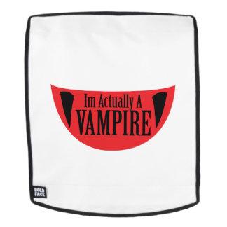 Mochila Im divertido realmente un vampiro Halloween Meme