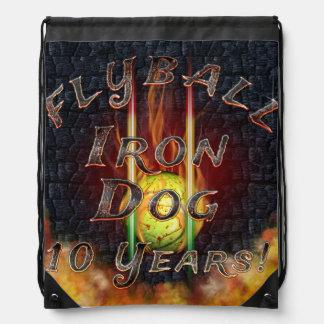 Mochila ¡Perro del hierro de Flamz Flyball - 10 años de