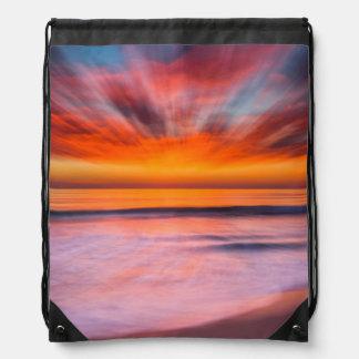 Mochila Playa el   Carlsbad, CA de Tamarack de la puesta