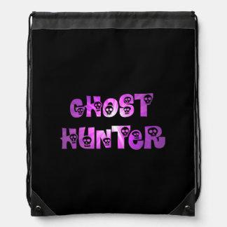 Mochila púrpura del cazador del fantasma de los cr