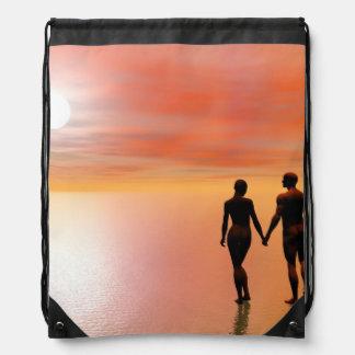 Mochila Romance de los pares - 3D rinden