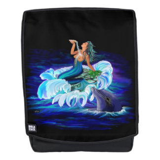 Mochila Sirena con el delfín