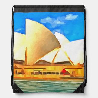 Mochila Teatro de la ópera hermoso de Sydney