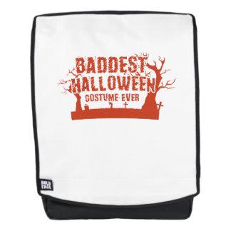 Mochila Traje no asustadizo de Baddest Halloween siempre