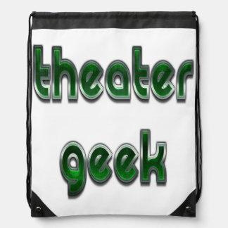 Mochila Verde del friki del teatro