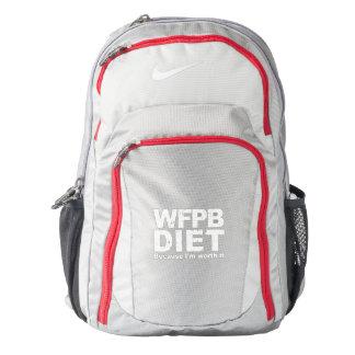 Mochila WFPB I lo valen (blanco)