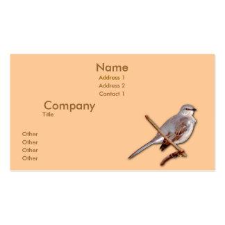 Mockingbird Tarjetas De Visita