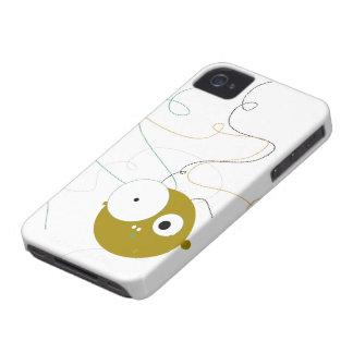 mocoso cabezón iPhone 4 Case-Mate cárcasas