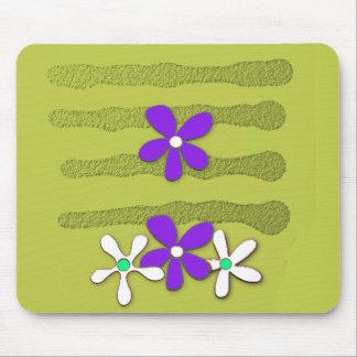 MOD-ART-DESIGN_Flower's-Grape-Olive Alfombrilla De Ratón