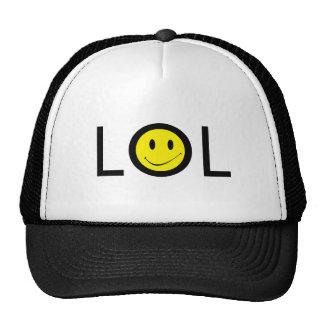 MOD LOL de Texting del ~ del gorra con la cara