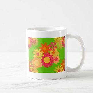 MOD maravillosa floral Taza De Café