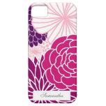 MOD rosada y púrpura floral iPhone 5 Coberturas