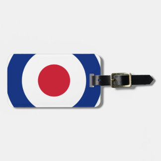 MOD - Roundel clásico - blanco del tiro al arco de Etiqueta Para Maletas