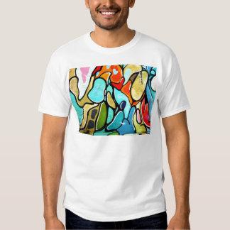 moda de la pintada camisetas