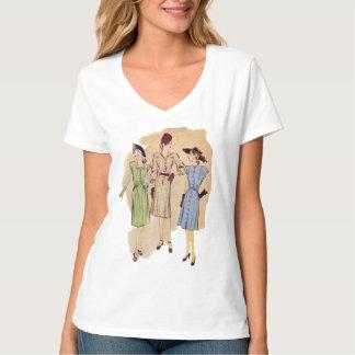 Moda de los años 40 del vintage camisas