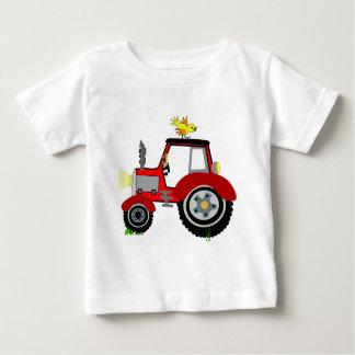 Moda de los niños camiseta de bebé