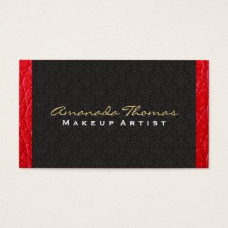 Moda del damasco/del bajo de cuero el |, de lujo tarjeta de negocios
