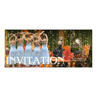 Moda del lujo de la invitación del fiesta del