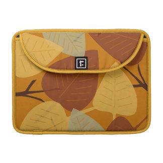 Moda dispersada moderna de la rama del otoño de la fundas para macbooks