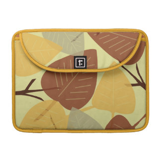 Moda dispersada moderna de la rama del otoño de la funda para macbook pro