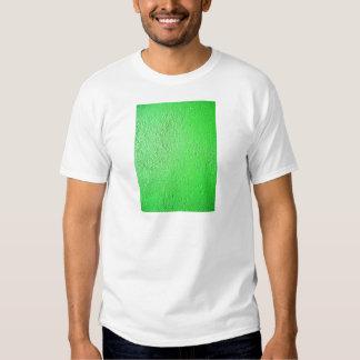 Moda fluorescente verde del estilo del diseño camisas
