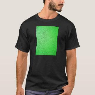 Moda fluorescente verde del estilo del diseño camiseta
