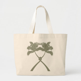 Moda moderna del boda tropical de la playa de las bolsa tela grande