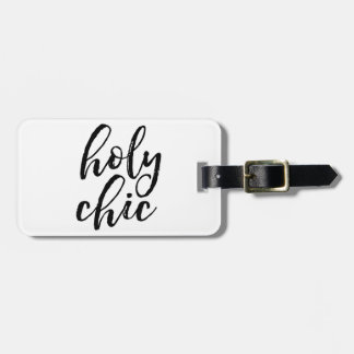 Moda santa etiqueta para maletas