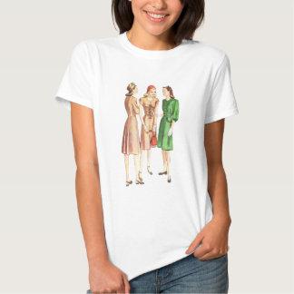 moda V2 de los años 40 Camisetas