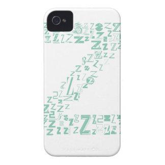 Moda Z de la fuente Carcasa Para iPhone 4 De Case-Mate