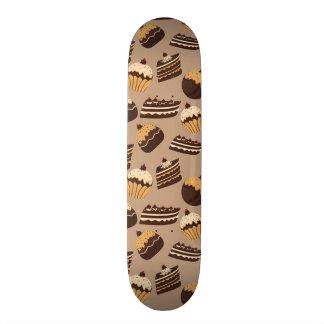 Modelo 3 del chocolate y de los pasteles patin personalizado