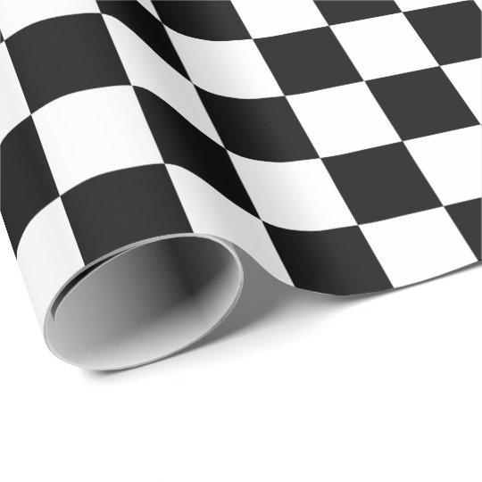 Modelo a cuadros blanco y negro del tablero papel de for Papel pintado blanco y negro
