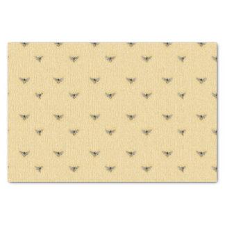 Modelo a mano elegante hermoso de la abeja papel de seda