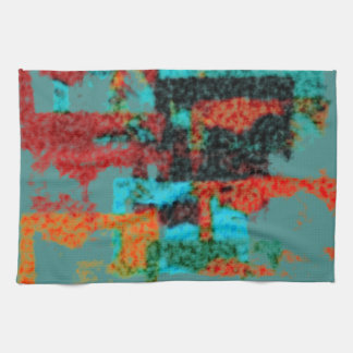 Modelo abstracto borroso toalla de mano