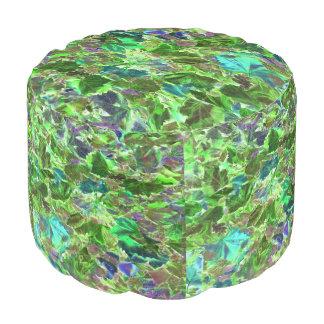 Modelo abstracto de la hoja del verde y de la puf