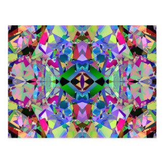 Modelo abstracto del caleidoscopio postal