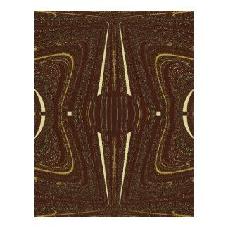 Modelo abstracto elegante de Brown Tarjeta Publicitaria