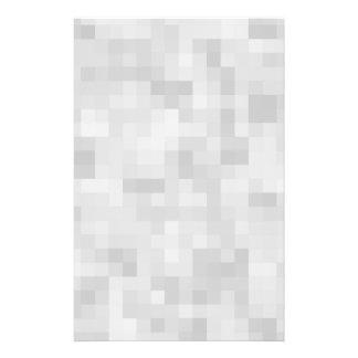 Modelo abstracto gris claro folleto 14 x 21,6 cm