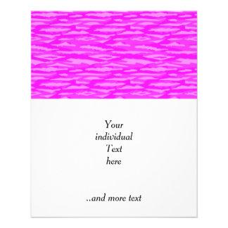 Modelo abstracto, inconsútil, rosado folleto 11,4 x 14,2 cm