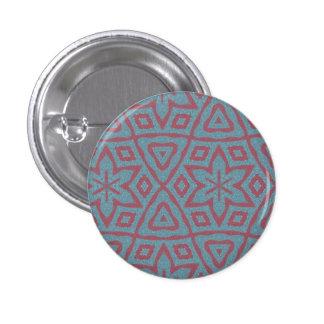 Modelo abstracto moderno chapa redonda 2,5 cm