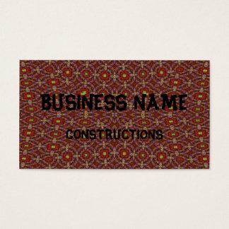 Modelo abstracto moderno tarjeta de negocios