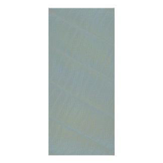 Modelo abstracto sutil verde claro folleto publicitario 10 x 22,8 cm