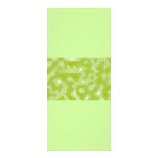 Modelo abstracto verde y blanco de la primavera plantillas de lonas