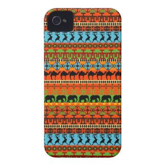 Modelo africano nativo iPhone 4 protector
