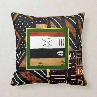 Modelo africano tribal del estilo cojín decorativo