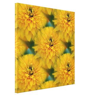 Modelo amarillo de la naturaleza de la flor de la