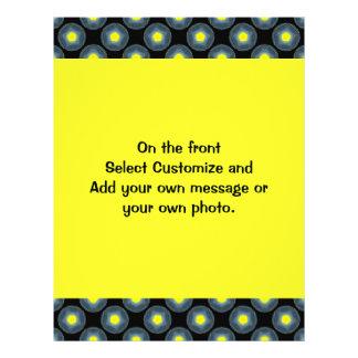 modelo amarillo gris negro tarjetas publicitarias