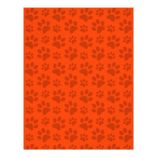 Modelo anaranjado de neón de la impresión de la pa