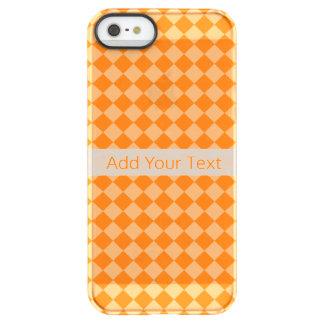 Modelo anaranjado del diamante de la combinación funda permafrost® para iPhone SE/5/5s